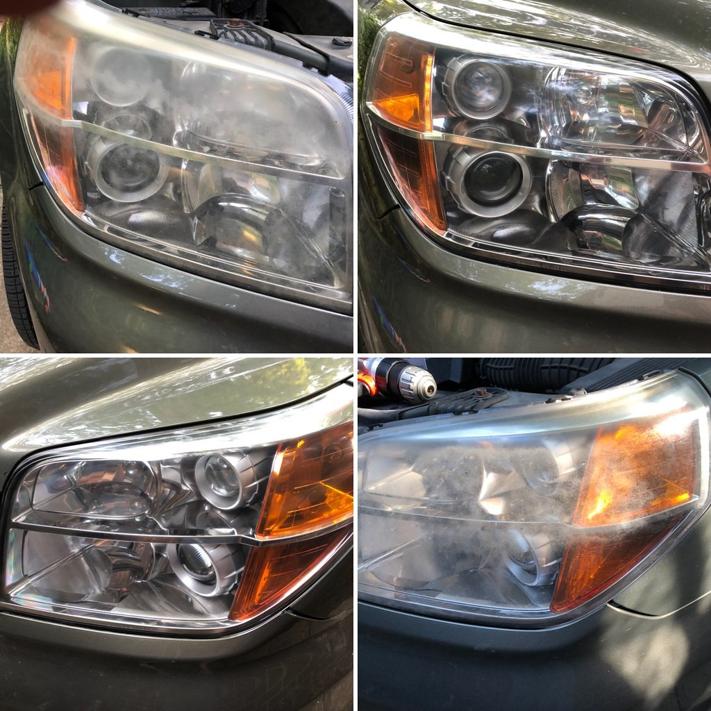 How to Do a Car's Headlight Restoration