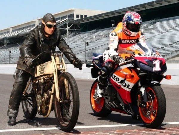 Motorbikes: The Old World and the New